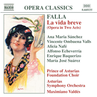 Produktbilde for Falla: La vida breve (CD)