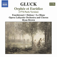 Produktbilde for Gluck: Orphée et Euridice (Paris Version) (CD)