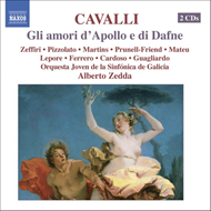 Produktbilde for Cavalli: (Gli) Amori d'Apollo e di Dafne (CD)