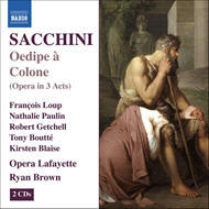 Produktbilde for Sacchini: Oedipe à Colone (CD)