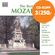 Produktbilde for The Best of Mozart (CD)