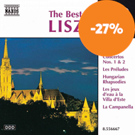 Produktbilde for The Best of Liszt (CD)