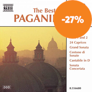 Produktbilde for The Best of Paganini (CD)