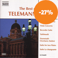 Produktbilde for Telemann: The best of Telemann (CD)