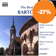 Produktbilde for Best Of Bartók (CD)