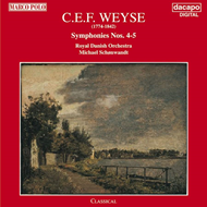 Produktbilde for Weyse: Symphonies Nos 4 and 5 (CD)