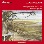 Produktbilde for Glass, L: String Quartets Nos 2 & 4 (CD)