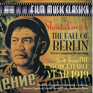 Produktbilde for Shostakovich: The Fall of Berlin; The Unforgettable Year 1919 (CD)