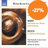 Produktbilde for Orff; Bird; Reed: Wind Band Music (CD)