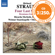Produktbilde for Strauss, R: 4 Last Songs (CD)