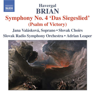 Produktbilde for Brian: Symphonies Nos 4 and 12 (CD)