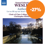 Produktbilde for Wesley: Anthems (CD)