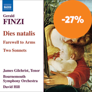 Produktbilde for Finzi: Dies Natalis (CD)