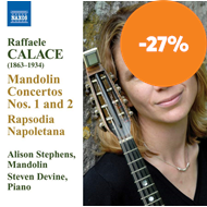 Produktbilde for Calace: Mandolin Concertos Nos 1 & 2 (CD)