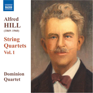 Produktbilde for Alfred Hill - String Quartets Vol. 1 (CD)