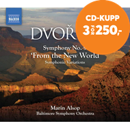 Produktbilde for Dvorák: Symphony No 9, 'From the New World'; Symphonic Variations (CD)