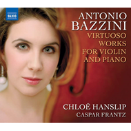 Produktbilde for Bazzini: Virtuoso Works for Violin and Piano (CD)