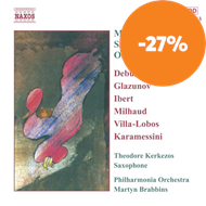 Produktbilde for Works for Saxophone and Orchestra (CD)