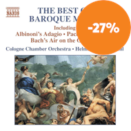 Produktbilde for The Best of Baroque Music (CD)