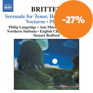 Produktbilde for Britten: Serenade for Tenor, Horn & Strings; Nocturne; Phaedra (CD)