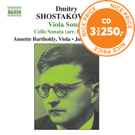 Produktbilde for Shostakovich: Cello Sonata; Viola Sonata (CD)