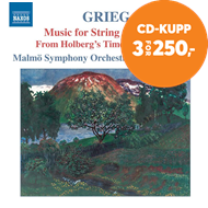 Produktbilde for Grieg: Music For String Orchestra (CD)