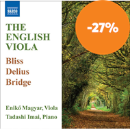 Produktbilde for The English Viola (CD)