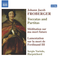 Produktbilde for Froberger: Toccatas and Partitas (CD)