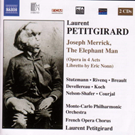 Produktbilde for Petitgirard: Joseph Merrick, The Elephant Man (CD)
