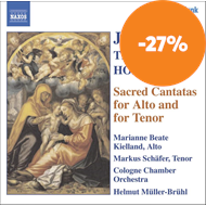 Produktbilde for Bach; Hoffmann; Telemann: Sacred Cantatas for Alto and Tenor (CD)