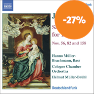 Produktbilde for Bach: Cantatas Nos 56, 82 and 158 (CD)