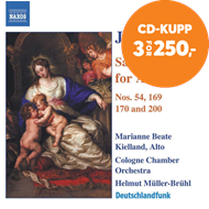 Produktbilde for Bach: Sacred Cantatas for Alto (CD)