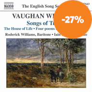 Produktbilde for Vaughan Williams: Songs of Travel; The House of Life (CD)