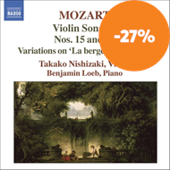 Produktbilde for Mozart: Violin Sonatas Nos 15 and 16 (CD)
