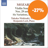 Produktbilde for Mozart: Violin Sonatas, Vol 6 (CD)