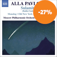 Produktbilde for Pavlova: Sulamith - Orchestral Works (CD)