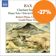 Produktbilde for Bax: Clarinet Sonatas; Piano Trio (CD)