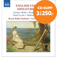 Produktbilde for English String Miniatures, Vol 6 (CD)