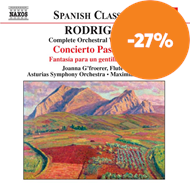 Produktbilde for Rodrigo: Complete Orchestral Works, Vol 8 (CD)