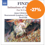 Produktbilde for Finzi: Intimations of Immortality; For St Cecilia (CD)