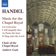 Produktbilde for Handel: Music for the Chapel Royal (CD)