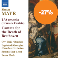 Produktbilde for Mayr: L' Armonia; Cantata for the Death of Beethoven (CD)