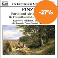 Produktbilde for Finzi: Earth and Air and Rain; To a Poet; By Footpath and Stile (CD)