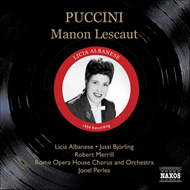 Produktbilde for Puccini: Manon Lescaut (CD)