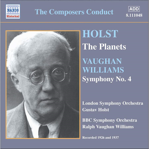 Holst: The Planets; Vaughan Williams: Symphony No 4 (CD)