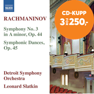 Produktbilde for Rachmaninov: Symphony No.3 / Symhonic Dances Op.45 (CD)