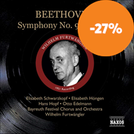 Produktbilde for Beethoven: Symphony No 9 (CD)