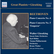 Produktbilde for Beethoven: Piano Concertos Nos 4 and 5 (CD)