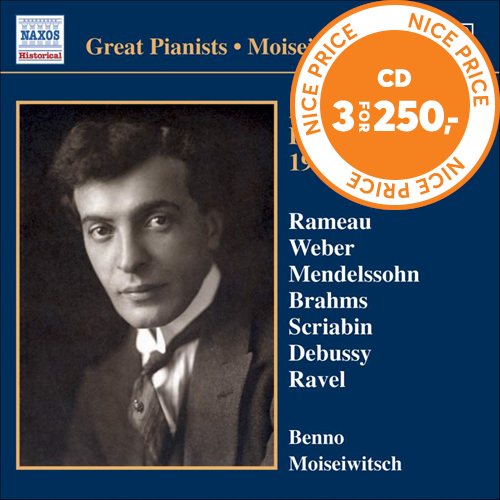 Great Pianists - Moiseiwitsch, Vol 10 (CD)