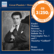 Produktbilde for Great Pianists - Moiseiwitch, Vol 11 (CD)